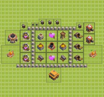 Köy Binası 3.Seviye İçin Düzenler
