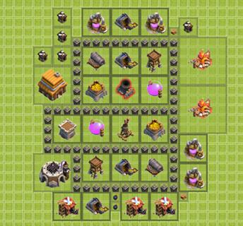 Köy Binası 4.Seviye İçin Düzenler