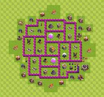 Köy Binası 7.Seviye İçin Düzenler