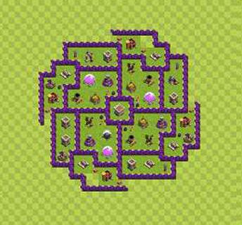 Köy Binası 8.Seviye İçin Düzenler