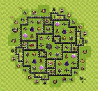 Köy Binası 9.Seviye İçin Düzenler